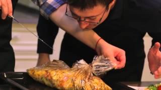 Кулинарные радости 37. Картофель запеченный с грибами и салат здоровье!