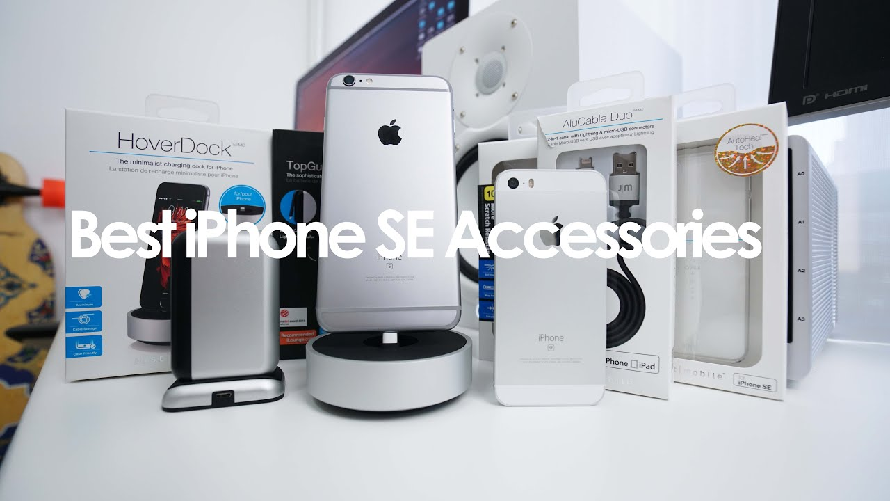 BEST iPhone SE Accessories   YouTube BEST iPhone SE Accessories