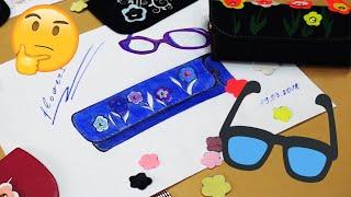 як зробити футляр для окулярів