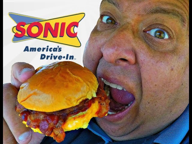 SONIC Drive In® Bacon, Egg & Cheese Breakfast Slinger Review!