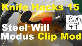 Knife Hacks Episode 15: Steel Will Modus and Cutjack Clip Mod