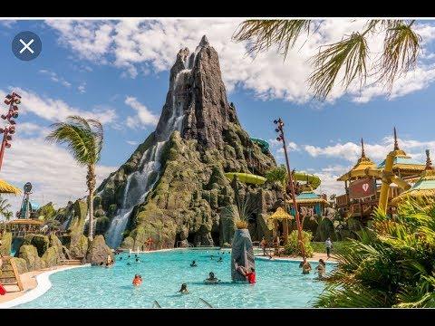 ???? ФАНТАСТИКА АКВАПАРК ???? Volcano Bay Universal Studios Orlando Florida 06.10.2018