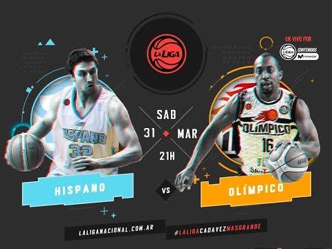 Liga Nacional: Hispano vs. Olímpico | #LaLigaEnTyCSports