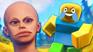 Raiding a Salty Clan in Rust but it's Roblox