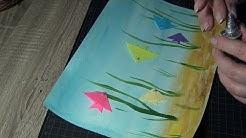 Морско дъно. Живопис за най-малките. Оригами за най-малките.