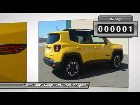 2015 jeep renegade david stanley dodge jp28039 youtube. Black Bedroom Furniture Sets. Home Design Ideas