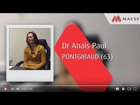 Dr Anaïs P., Médecin Généraliste à Pontgibaud (63)