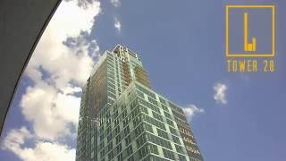 Heatherwood Luxury Rentals-Tower 28 Construction Time Lapse