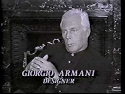 "Armani Interview -""Good Morning America"" interpreter"