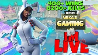 FORTNITE LIVE STREAM PS4 | 341 SOLO-SIEGE | 8200+ KILLS | NEUE Ostern Skins !