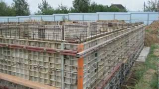 Монолитный фундамент. Стены(, 2012-02-04T13:14:39.000Z)