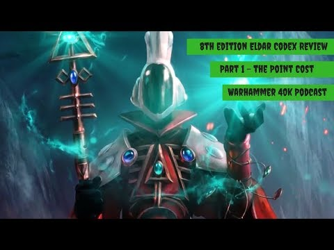 Eldar Codex Review - 8th Edition Warhammer 40k Podcast