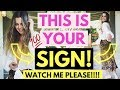 Looking For A Sign | Watch This! Immediately Raise Your Vibration