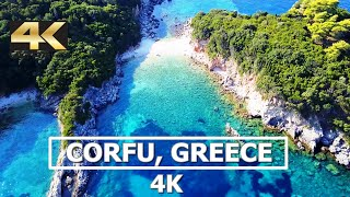 Corfu, Greece 4K Drone