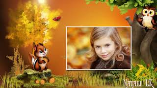 Осень чудная пора   Autumn is a wonderful time   Free project ProShow Producer