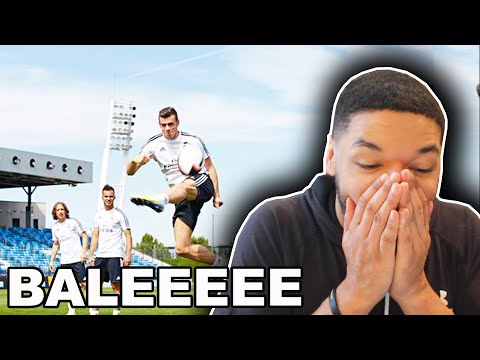 NFL Fan Reacts to REAL MADRID PLAYERS TRY RUGBY (Bale, Benzema, Modric & MORE)