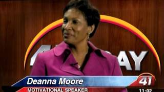41NBC/WMGT- Life Coach Deanna Moore Writes Best Selling Children's Book 12.27.13