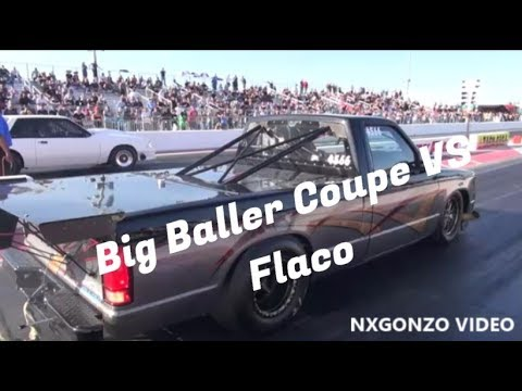 Street Outlaws Flaco vs Big Baller Coupe!