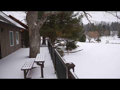 The Park at Flat Rock - January 17, 2018 - Snow!