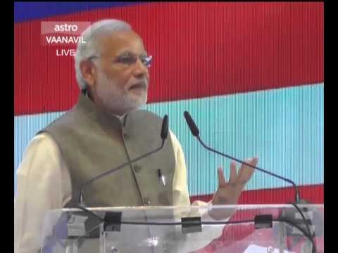PM Modi's speech at the Indian Community reception in Malaysia