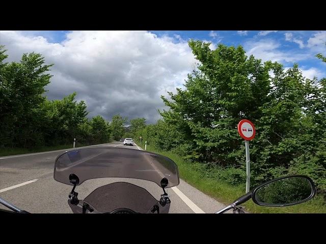 Ruta Moto en primera persona   Miraflores de la Sierra   Puerto de Canencia