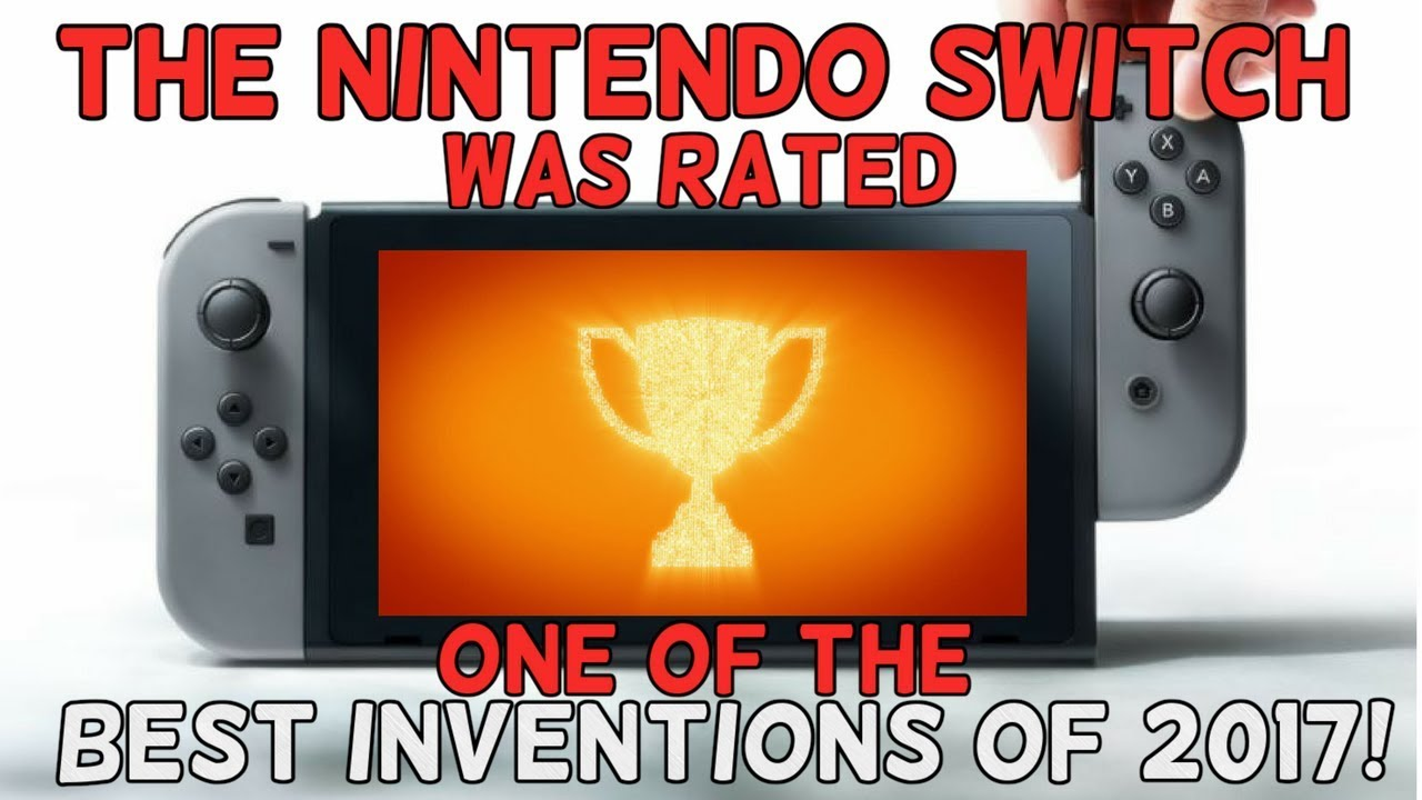 The Nintendo Switch Was Named One of Time's Best Inventions of 2017