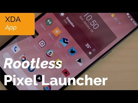 Rootless Pixel 2 Launcher Port with Google Feed