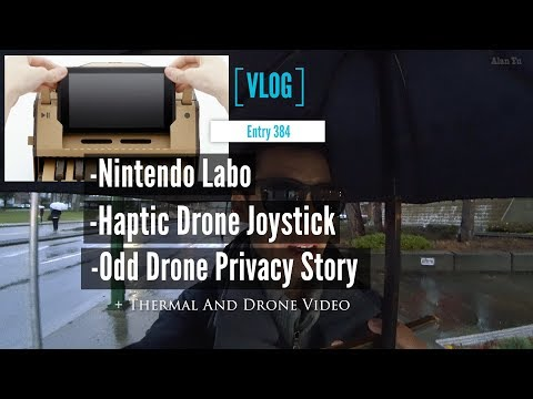 Nintendo Labo Plus The Haptic Drone Joystick With An Odd Drone Privacy Story