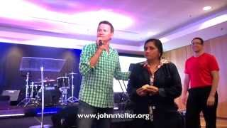 Painful toothache healing - John Mellor Healing Evangelist