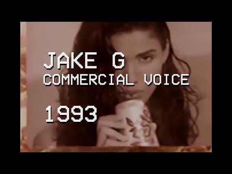 Jake G  Commercial Voice Reel  1993