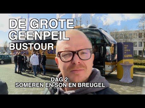 GeenPeil-bustour dag 2 : Someren en Son en Breugel!
