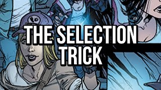 Easy selections with the Lasso in Photoshop: The Selection Trick!