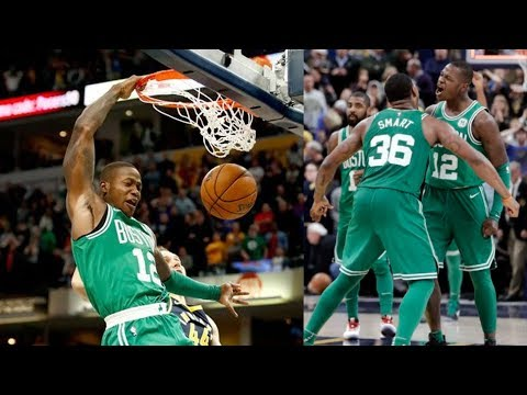 Terry Rozier Game Winner vs Pacers! Oladipo 38 Points! 2017-18 Season