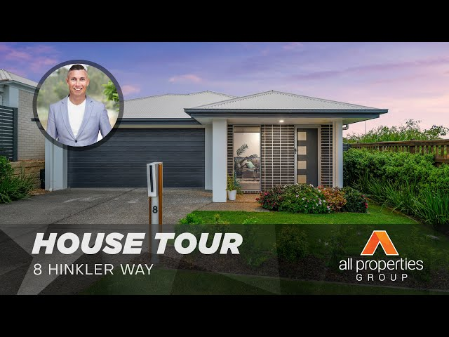8 Hinkler Way, Park Ridge | House Tour | Chris Gilmour