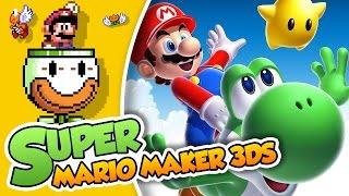 ¡Yoshi, te vienes conmigo! | Super Mario Maker 3DS