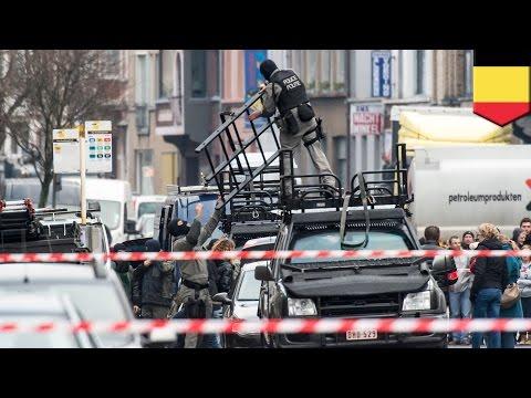 ベルギーで銃を持った男4人が男性を人質にとる