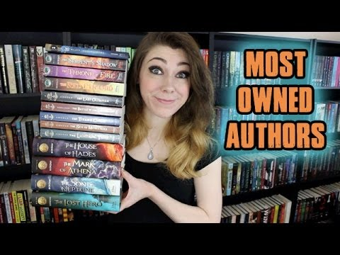 TOP TEN MOST OWNED AUTHORS!