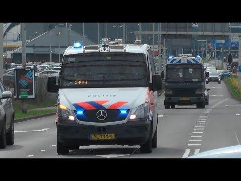[Oud & Nieuw!] Mobiele Eenheid Rotterdam met spoed naar inzet! #761