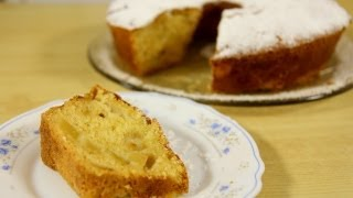 Apple Cake With Nonna Recipe - Laura Vitale - Laura In The Kitchen Episode 477