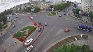 Бульвар-Машерова. ДТП. Брест. 23.05.2019