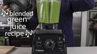 GREEN JUICE RECIPE SONG (never forget a single ingredient!)