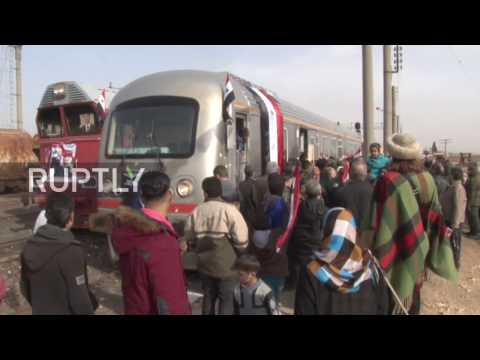 Syria: Train travels