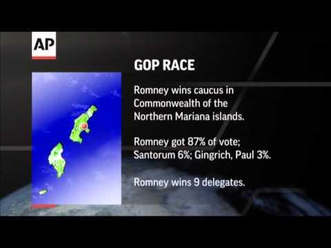 Romney Wins Votes in Guam, Northern Marianas