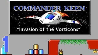Commander Keen in Invasion of the Vorticons - 01 It's a Thing