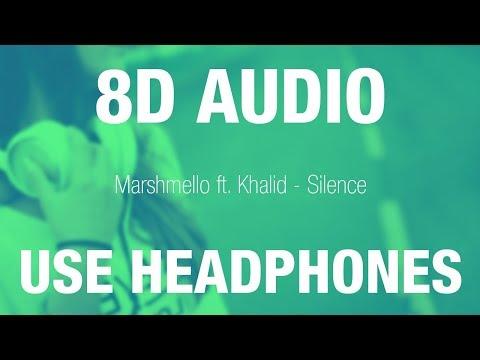 Marshmello Ft. Khalid - Silence | 8D AUDIO