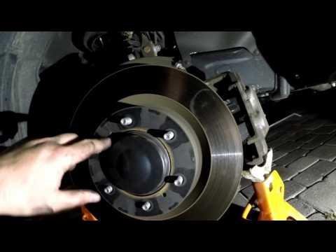 Toyota 4Runner 2010 2011 2012 2013 2014 2015 2016 2017 2018 5th Gen Install Front Brake Pads Rotors