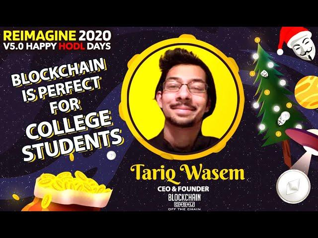 Tariq Waseem - GSU Blockchain-Untold challenges of launching a blockchain club