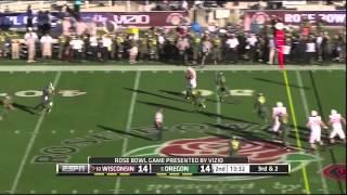 Russell Wilson vs Oregon (2012 Rose Bowl)
