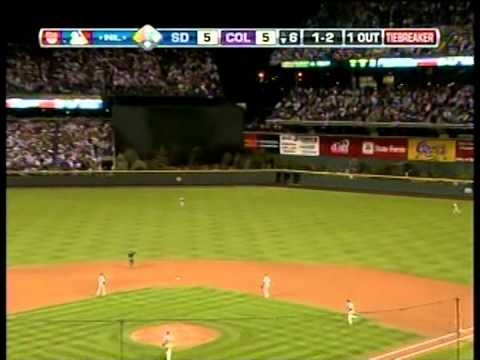 Padres vs. Rockies, Wild Card Playoff, 2007
