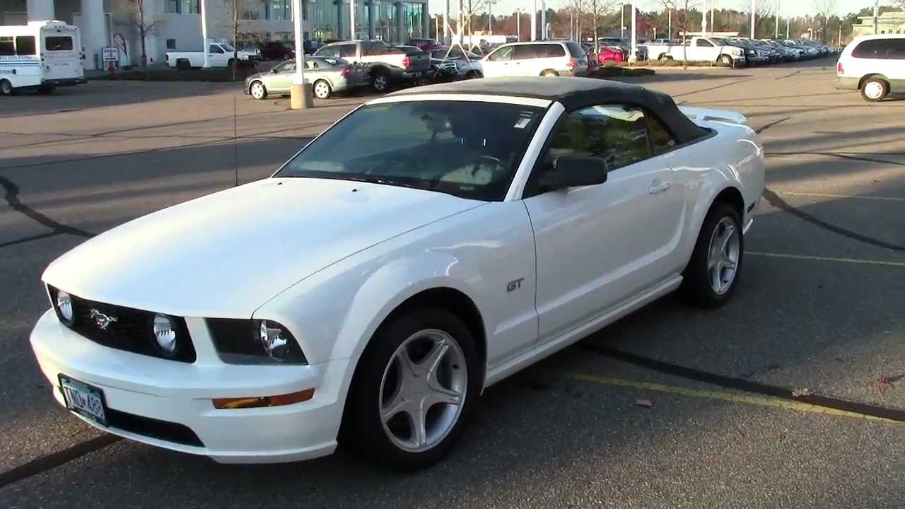 2006 ford mustang gt convertible 4 6l v8